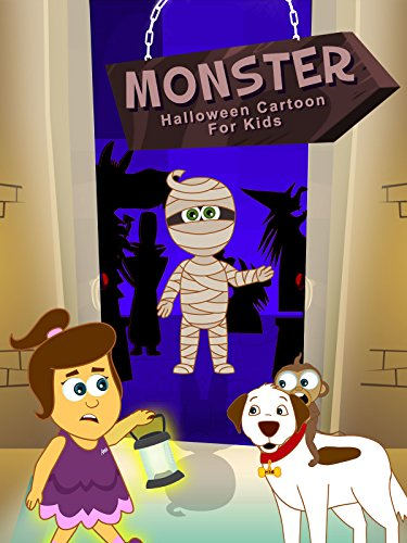 Monster- Halloween Cartoon For Kids - Cartoon Halloween Frankenstein