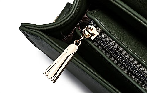 Piccolo pacchetto, zaino semplice di personalità coreana di moda, borsa a tracolla mini studenti ( Colore : Verde ) Marrone
