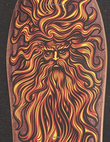 Sun God Skateboard Journal: Daily Diary / journal / notebook to write in and record your thoughts.