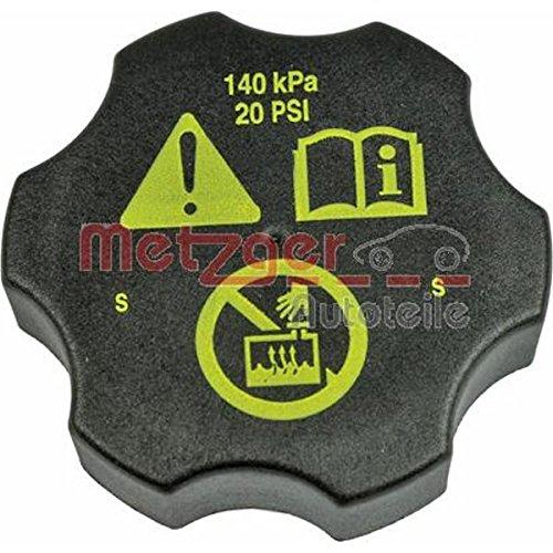 METZGER 2140114 Verschlussdeckel, Kühlmittelbehälter (Kühlmittelbehälter)