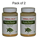 Karela is also known as Bitter melon/Momordica charantia is synergistically processed with highly advanced technology. Herbalhills is India's largest online selling brand in pure herb powders. Herbalhills products are made out of best quality and aut...