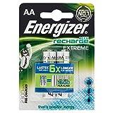 Energizer Original Akku Extreme Mignon AA (2300mAh 1,2 Volt, vorgeladen 2-er Pack)