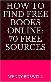 70 Ways You Can Find Books Online by [Boswell, Wendy]