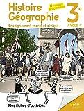 Mon cahier d'Histoire Géographie EMC 3ème