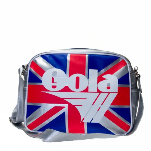 Gola Redford Union Jack Sports Bag Blue/Red/White