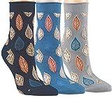 Vitasox 11915 Damen Socken Baumwolle Rollrand Damensocken bunt ohne Gummi ohne Naht 6 Paar 35/38