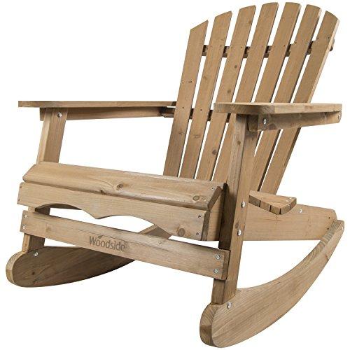 Woodside - Adirondack-Schaukelstuhl - für Gärten & Terrassen - Holz