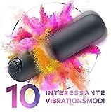 G-Punkt Vibratoren für Sie Klitoris Vibrator mit 2 Motoren Klitoris Stimulator Rabbit Vibratoren Erotik Sexspielzeug für Frauen mit 10 Modi Silikon