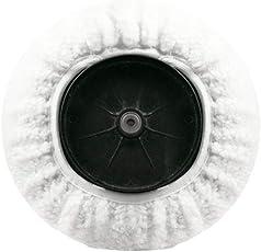 beautygoods Polierhaube aus Mikrofaser, 140 mm und 180 mm Durchmesser, nachgemachtes Wollmaterial, Zum Autowachsen und Polieren von hochwertigen Möbeln, Farbfernseher und Kühlschrank