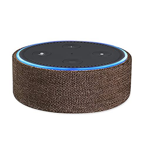 Protective Fabric Case Cover for 2nd Generation of Echo Dot; Protect and Accessorize Alexa in Gorgeous Fabric Covers by Wasserstein