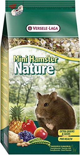 Versele Laga Hamsterfutter Mini Nature 400 g, 3er Pack (3 x 400 g)