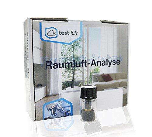 Luftanalyse für Wohnräume - Raumluft Test auf leichtflüchtige Wohngifte inkl. Laboranalyse