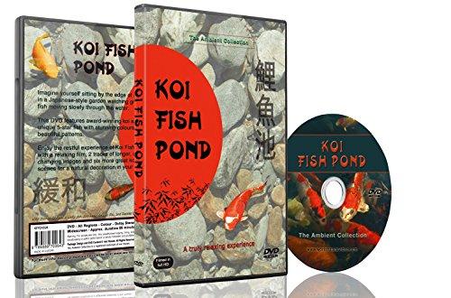 Preisvergleich Produktbild Entspannungs DVD - Koi-Teiche mit natürlichen Geräuschen von Wasser