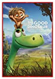 Close Up The Good Dinosaur Poster (Disney Pixar) Arlo & Spot (94x63,5 cm) gerahmt in: Rahmen rot