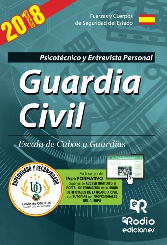 Guardia Civil. Escala de Cabos y Guardias. Psicotécnico. Quinta edición
