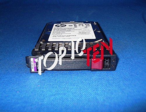 HP 600 GB 10K SAS 2.5' 6G Dual Port Hot Swap Festplatte 581286-B21 581311-001 (10k Hot Festplatte Swap)
