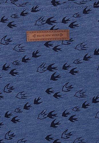 Naketano - Sweat-shirt - Imprimé animal - Femme Blue Melange