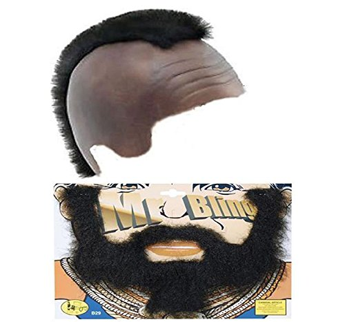 Mr T Mohawk Wig and Beard