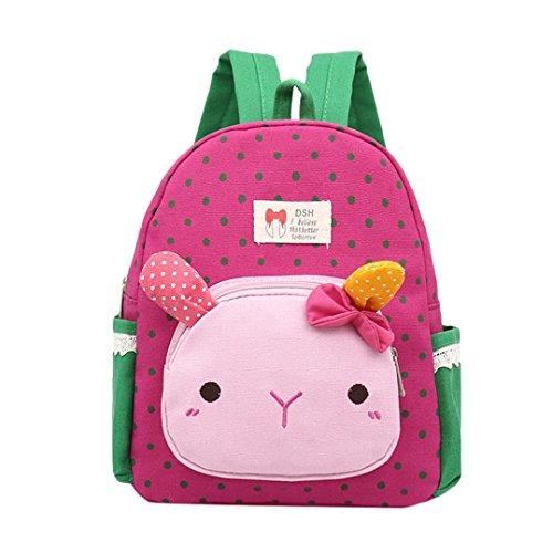 Trada Baby Backpack, Kinder Baby Mädchen Jungen Kinder Cartoon Kaninchen Tier Rucksack Kleinkind Schultasche Babyrucksack Schultasche...