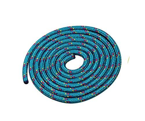 Seilspringen - Springseil 3 Meter - schönes Muster - grün