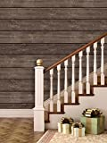 #6: Paper Plane Design Wallpapers Natural Wooden Effect Pre Gummed Peel And Stick Wallpaper (Self Adhesive) (3 Tiles / 5.5 Sqft)