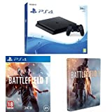 Sony PlayStation 4 500GB Console + Battlefield 1 + Steelbook (Exclusive to Amazon.co.uk)