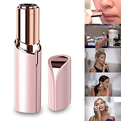 Native99 Women Painless Epilator Hair Remover Built-in Light,Removes Hairs From Lip, Chin, Cheeks Pink by 99native