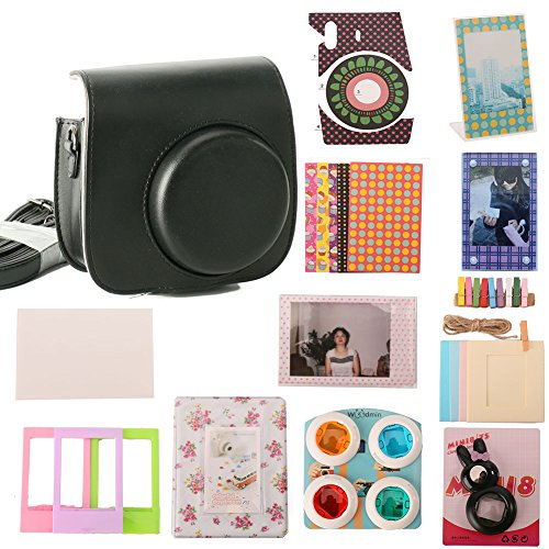 woodmin-12-in-1-accessori-bundle-set-per-fujifilm-instax-mini-fotocamera-da-8-nero-mini-8-caso-foto-