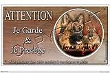 Panneau chien ou plaque German-Shepherd 30 cm...