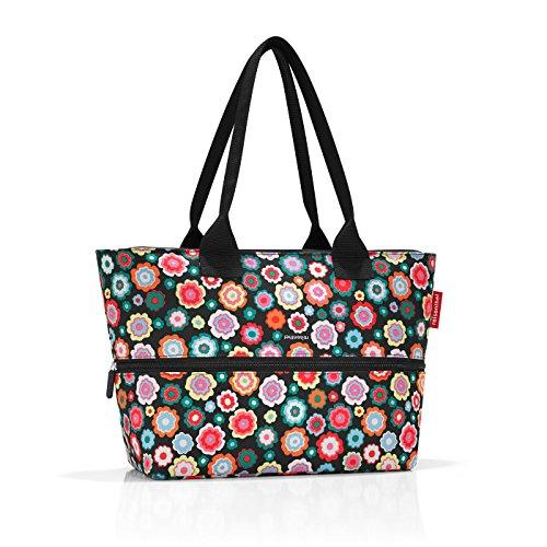 Flower Shopper (shopper e1 50 x 26,5 x 16,5 cm 50 x 35 x 16,5 cm expanded happy flowers)