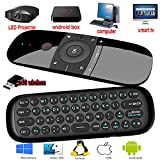 penkou Remote Control, 57b 2.4 GHz Air Mouse Wireless Mini Keyboard with Mouse Game Handle Android Remote Control for Smart TV Android TV Box PC HTPC IPTV Media Player (57b)