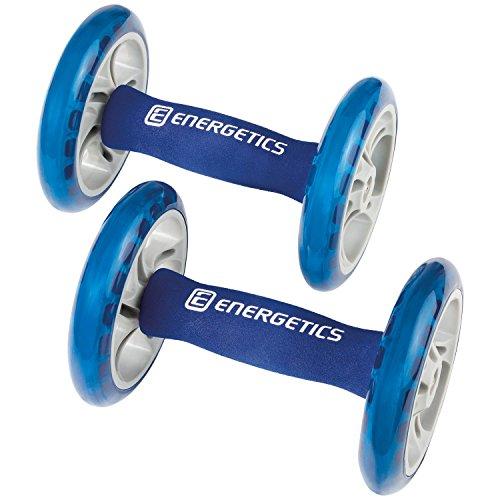 ENERGETICS Bauchtrainer Ab Wheels Blau/Grau, One Size