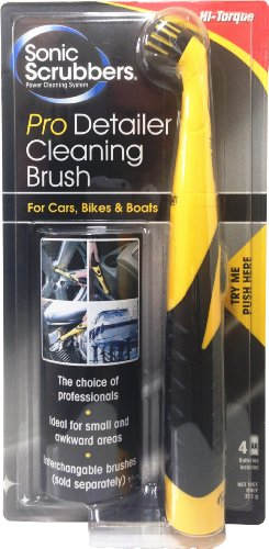 SonicScrubber 21569 Pro-Detailer Cleaning Brush for Cars/ Bike and Boats