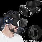 Casque de réalité virtuelle 3D Bevifi VR avec télécommande rechargeable et...