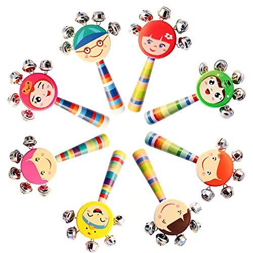 SUNXIN Juguete sonajero peluches para cunas juguete juguete que cuelga, cochecito de bebé de juguete cama de asiento de coche, juguete del desarrollo de la actividad recién nacido