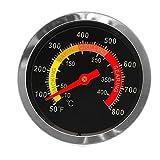 Freshsell Grillthermometer, Edelstahl, Temperaturanzeige, 10-400 °C