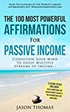 Affirmation | The 100 Most Powerful Affirmations for Passive Income | 2 Amazing Affirmative Books Included for Making Money Online & Investing: Condition ... Multiple Streams of Income (English Edition)