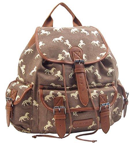 Imagen de benzi   infantil marrón ll7386hs brown horse l