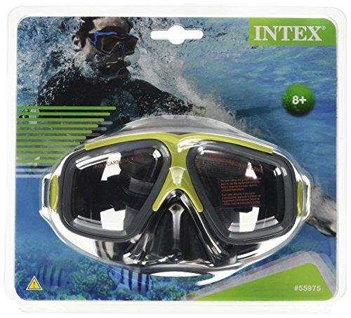 Intex 55975 - Maschera Surf Rider, Verde/Nero/Rosso