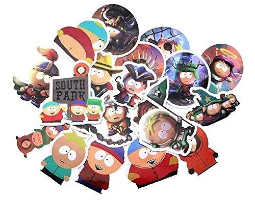 South Park Cartoon-TV-Show, Set mit 21 verschiedenen Aufklebern (South Park-tv-show)