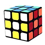 3x3x3 YJ GuanLong Black Speed Puzzle Cube Twisty Toy Smooth NEW 3x3 by YJ
