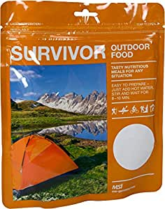 Notration Survivor Outdoor Food Farbe Butterpulver