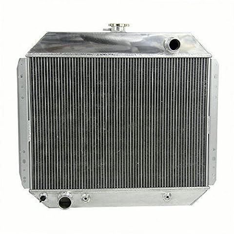 ALLOYWORKS Refroidissement du moteur en Aluminium Radiateur pour Ford F100 F150 F250 F350 Pickup Bronco 1967-1981 (3