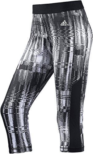 adidas Techfit Capri pantaloni sportivi da donna Printed All Over