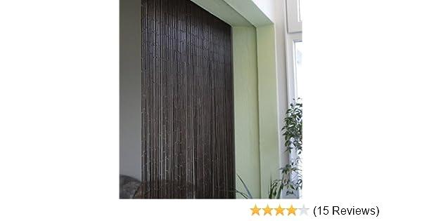 Bambusvorhang Turvorhang Saigon 90x200 Cm Mit 90 Strangen Auf 90cm