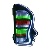 GYDD Barbierstab Leuchtkugel der LED-Schönheits-Hauptwand-Retro- wasserdichte wasserdichte Box im Freien beleuchtet