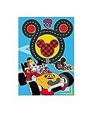 Mickey Mouse - Micky Maus - Strasse - Strassenteppich - Kinderteppich Teppich Kinderteppich Kinder Teppich Spielteppich darf in keinem Kinderzimmer fehlen 95 x 133 cm