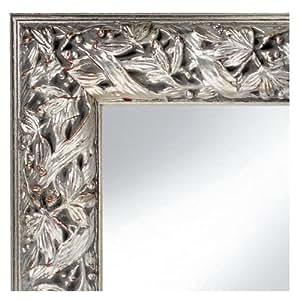 spiegel romana antik silber 50x50 cm komplett mit. Black Bedroom Furniture Sets. Home Design Ideas