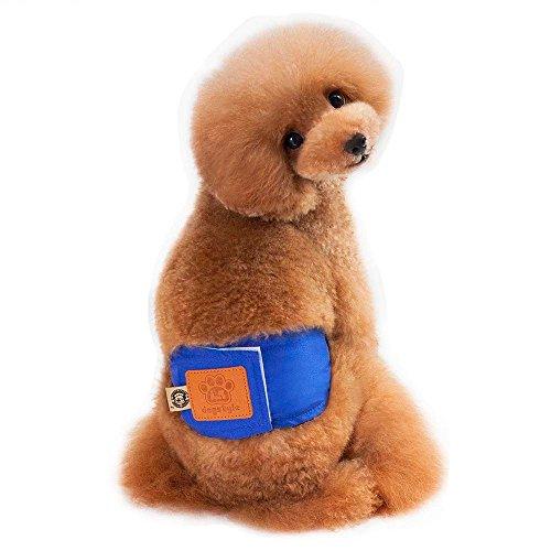 Hawkimin Haustier Hosen Bequem Baumwollmischung dogstyle Physiologische Hosen des Männlichen Hundes Hund Welpen Hunde - Männlichen Hunde Kostüm
