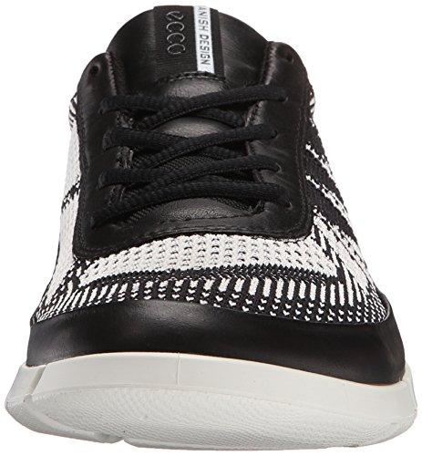 Ecco Intrinsic 1, Baskets Basses Homme Multicolore (black/white50669)
